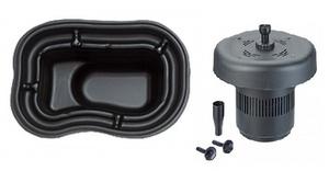 obrazek-Pontec Set plastové jezírko 250 l s plovoucím filtračním setem