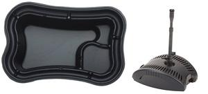 obrazek-Pontec Set plastové jezírko 750 l s filtrační fontánou  - Doprava zdarma