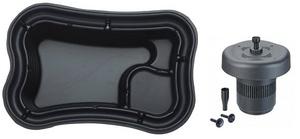 obrazek-Pontec Set plastové jezírko 750 l s plovoucím filtračním setem - Doprava zdarma