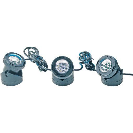 obrazek-Heissner LED bodové světlo podvodní 3 x1
