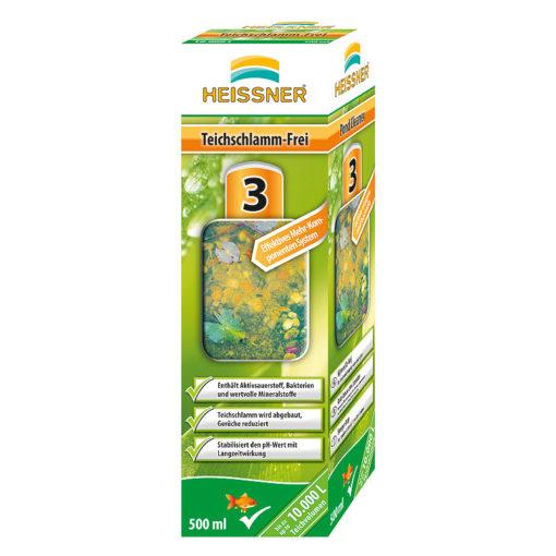 obrazek-Heissner odstraňovač  kalů z jezírka  250 g